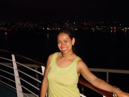 Leaving Cartagena.